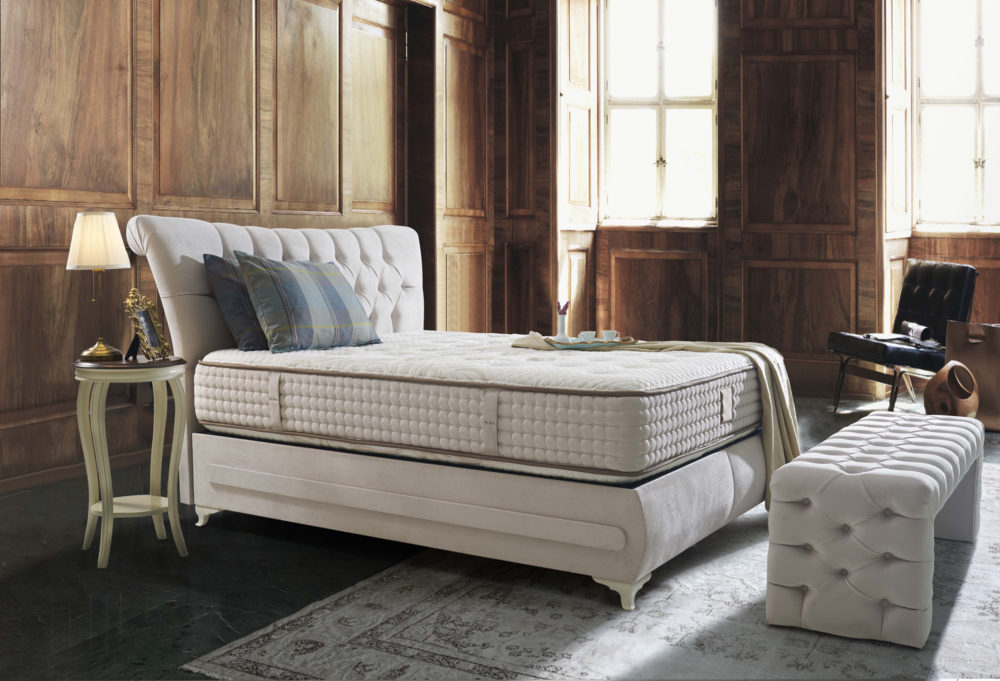 Hkm Platin Antik Baza Bett Set