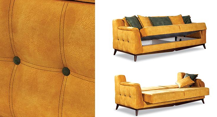 Bergamo Avangarde Sofa Set