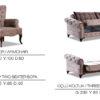 Lyon Avangarde Sofa Set