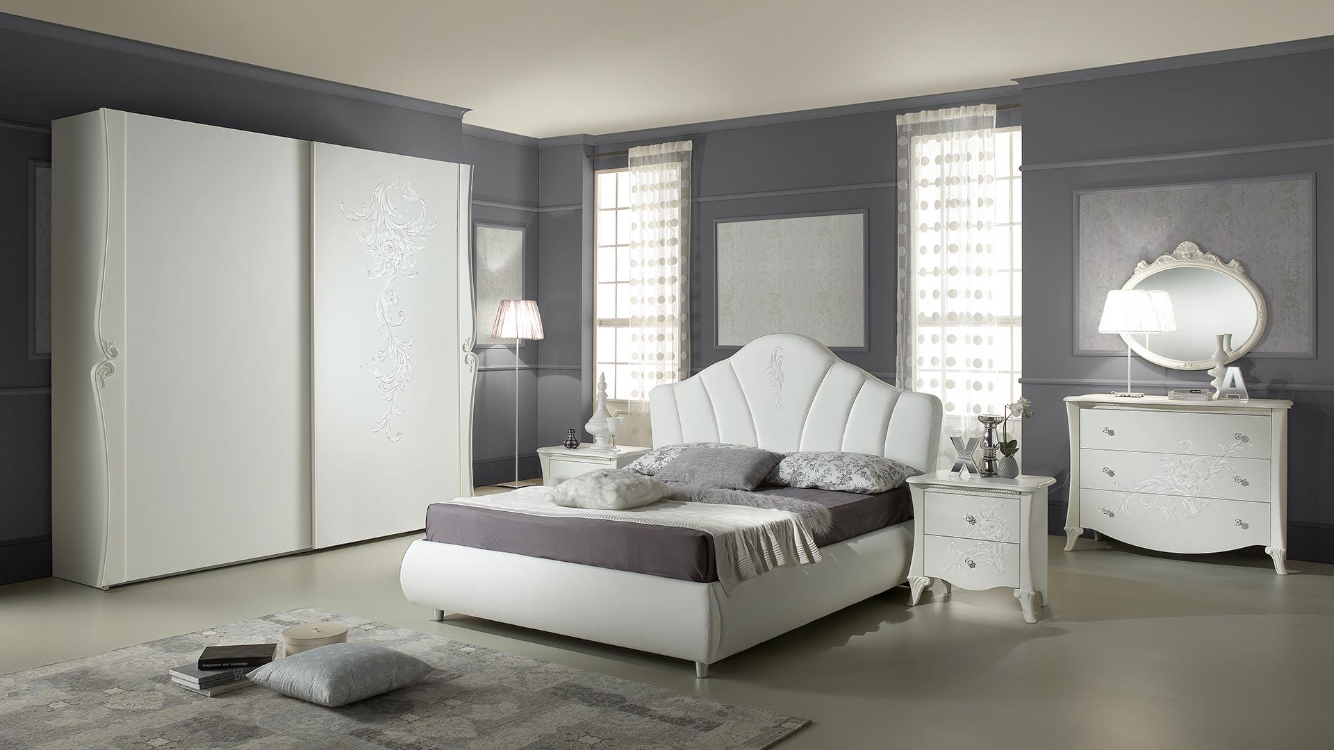 Schwebetürenschrank Schlafzimmer Weiß