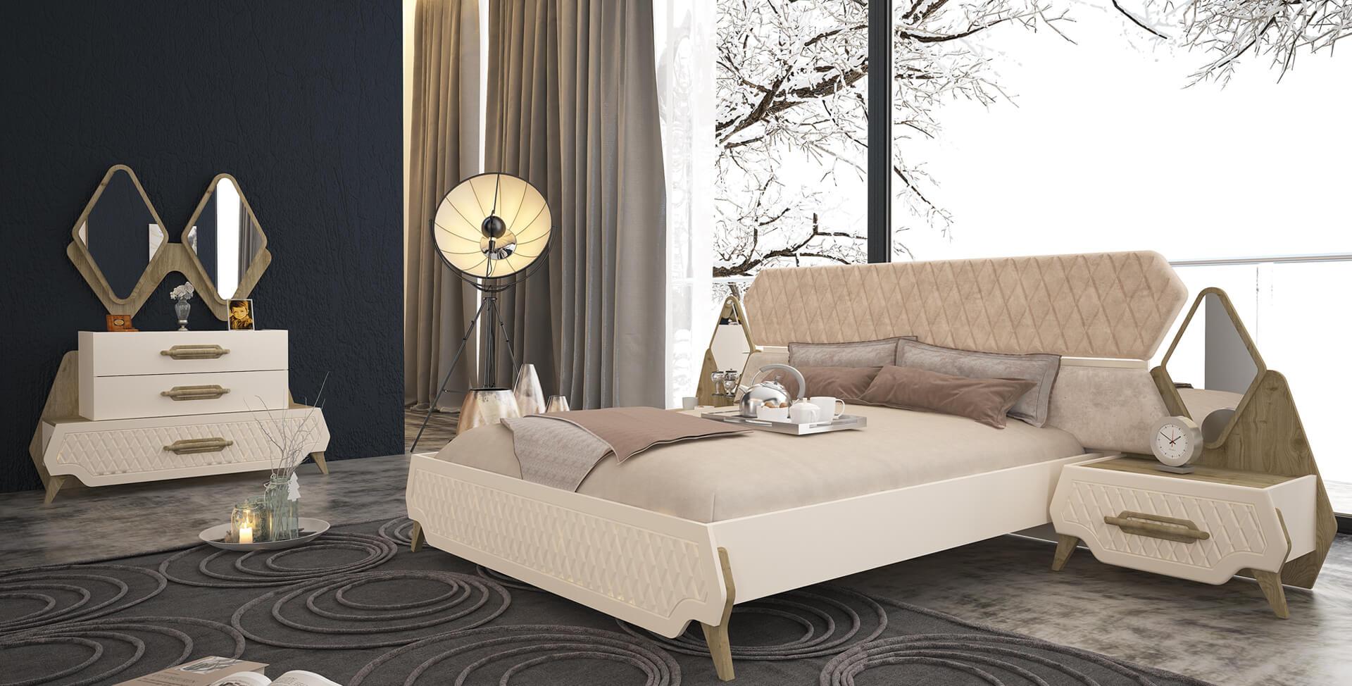 Roma Schlafzimmer Komplett Set